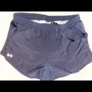 Women's Black Under Armour Athletic Shorts